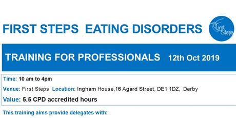Specialist Eating Disorders Training for Professionals (CPD accredited) tickets