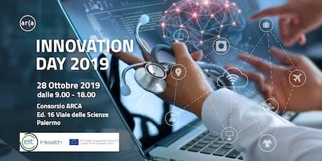 Innovation Day 2019 - Sviluppo di soluzioni innovative nel settore salute biglietti