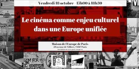 Le cinéma comme enjeu culturel dans une Europe unifiée billets