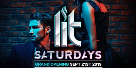 ALL NEW DESEO - LIT SATURDAYS - HIPHOP / TOP 40 / EDM / REGGAETON - NOW EVERY WEEK! tickets