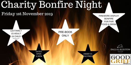 Charity Bonfire Night 2019