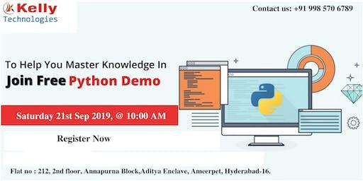 Attend Free Demo on Python