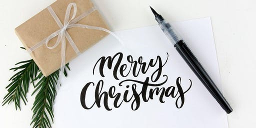 Calligraphy for Christmas- Have a Go !