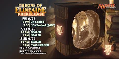 Sat 4 pm Throne of Eldraine Prerelease tickets