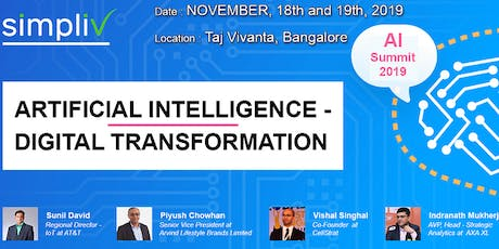 ARTIFICIAL INTELLIGENCE DIGITAL TRANSFORMATION SUMMIT tickets