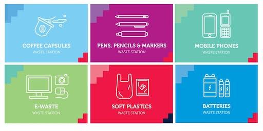 Pop-Up Waste Station (RMIT Sustainability Showcase)