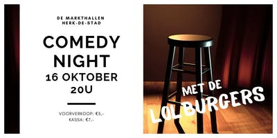 Comedy Night @ Herk-de-Stad