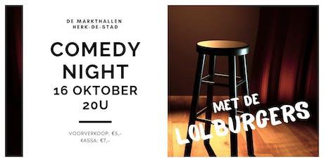 Comedy Night @ Herk-de-Stad tickets