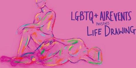LGBTQ+ AirEvent presents Life Drawing! tickets
