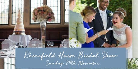 Rhinefield House Bridal Show tickets