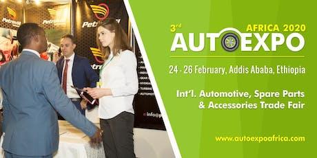3rd Autoexpo Ethiopia 2020 tickets