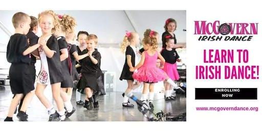 Mini Irish Dance Workshop