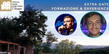 EXTRA DATE - FORMAZIONE e Vi Experience con Bragagnolo e Pacassoni biglietti