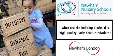 What Are the Building Blocks of a High Quality Early Years Curriculum? tickets