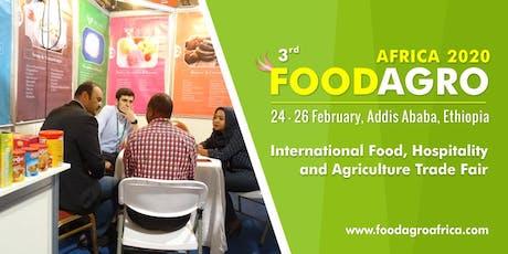 3rd Foodagro Ethiopia 2020 tickets