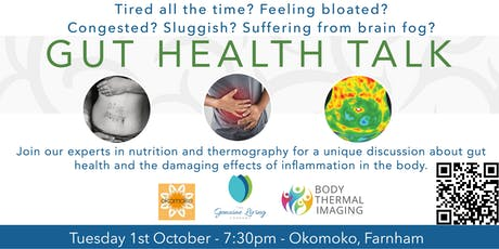 Gut Health Talk Okomoko Farnham tickets