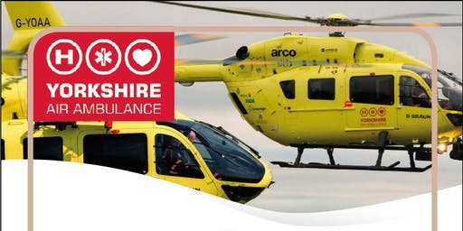 Charity Dinner Dance with Yorkshire Air Ambulance