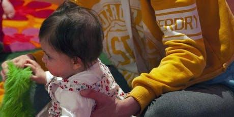 Baby Jam - pre-crawler sensory session. October dates tickets