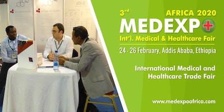 3rd Medexpo Ethiopia 2020 tickets
