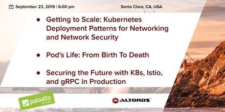 Cloud-Native and Kubernetes meetup in Silicon Valley: Getting to Scale tickets