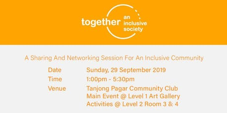 Together, an inclusive society tickets