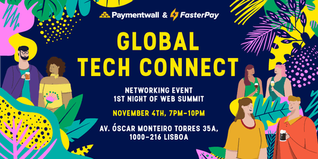 Web Summit Global Tech Connect tickets