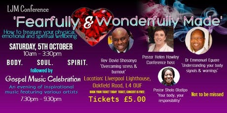 Fearfuly & Wonderfully Made tickets