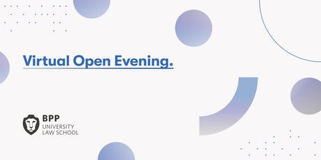 Virtual Open Evening: GDL and LLM [Law Conversion] tickets