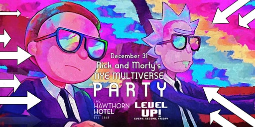 Rick & Morty's NYE Multiverse Party