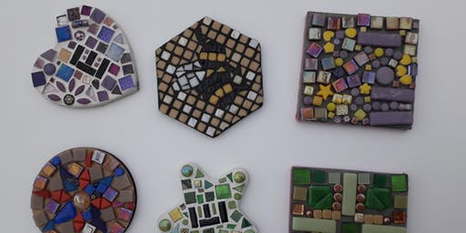 Mosaic Coasters - Craft at the pub!