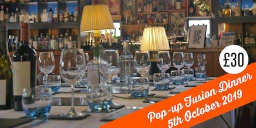 Pop-Up Fusion Dinner at The Gin Jamboree Distillery & Gin School