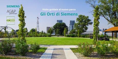 Visite guidate al nuovo parco: Gli Orti di Siemens biglietti