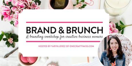 Brand & Brunch Workshop 2019 tickets