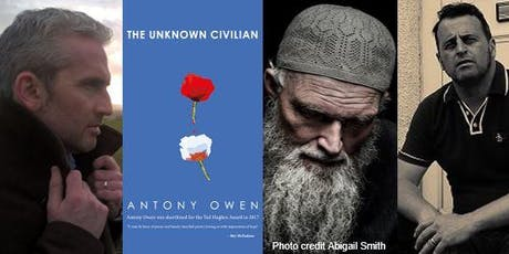 The Unknown Civilian: Poetry from Antony Owen, Joe Horgan & Paul Sutherland tickets