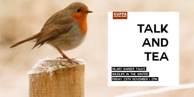 Talk & Tea - Hilary Barber talks Wildlife in Winter