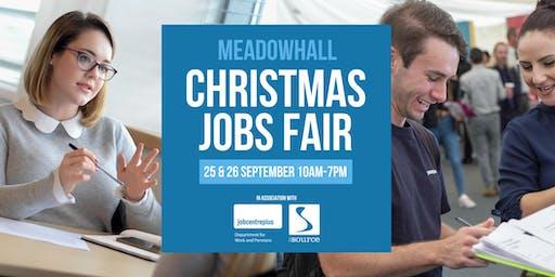 Meadowhall Christmas Jobs Fair