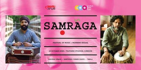 SAMRAGA- Morning Ragas tickets
