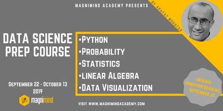 Data Analysis with Python (4 days - 20 hours) tickets