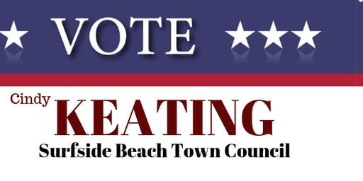 Meet Cyndi Keating  Candidate Surfside Beach Town Council