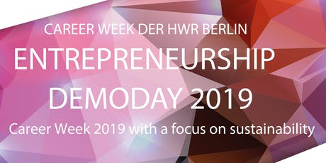 Entrepreneurship Demoday 2019  Tickets