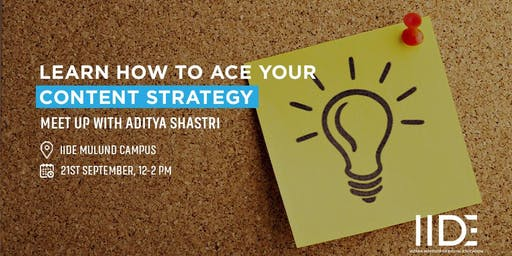 Learn how to ace your content strategy.
