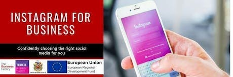 Instagram For Business   Friday 25th Oct at 9.30am tickets