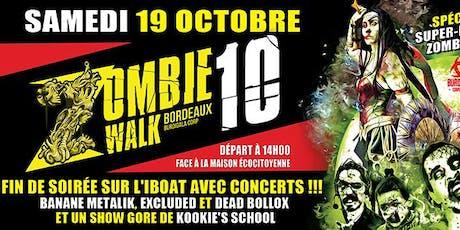 Zombie Walk Bordeaux 10 billets
