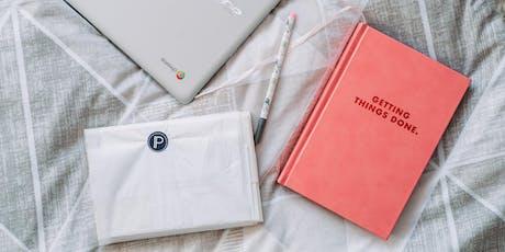 Atelier Productivité - Devenir plus efficace et plus organisé billets