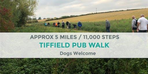 TIFFIELD PUB DAYTIME WALK   APPROX 5 MILES   EASY   NORTHANTS