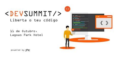 DevSummit 2019 - conferência sobre programação bilhetes