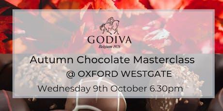 Godiva Autumn Chocolate Masterclass tickets
