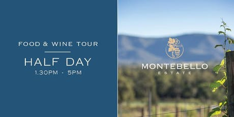 Half Day Saturday Afternoon Wine Tour tickets