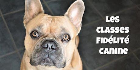 Les Classes Fidélité Canine billets