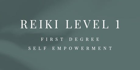 Traditional Usui Reiki Level 1 course tickets